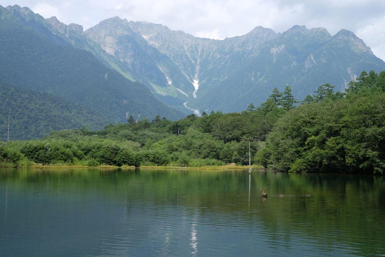 山の景色は美しい!