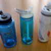 山行中に水分補給するための登山用水筒
