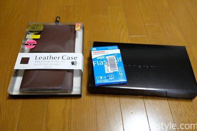 レザーケース、FlashAirも買いました。また、レビューします。
